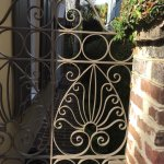 Alley Tour - lots of beautiful gates!