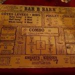 Bar B Barn resmi