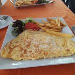 The best omelette ever tasted, yum xx