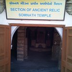 Old Somnath temple remains