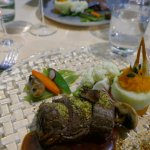 Great beef fillet with truffles