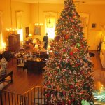 Christmas Tree In Entrance Gallery