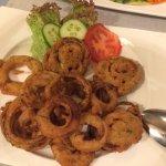 Onion Bhajee, großartig panierter Zwiebel