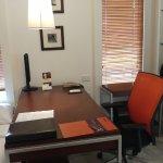 Office table setup is ok..