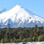 Rafting en el rio Petrohue y Volcan osorno