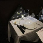 Table honoring the POW that did not return