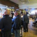 The bar area at the Arch Inn