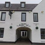 The entrance to the Arch Inn & Restaurant