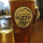 A nice pint of Scotia Lager