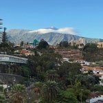 View to Pico del Teide from our balcony