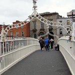 Ha'penny pedestrian bridge