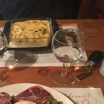 Gnocchis au bleu et salade saint Marcellin