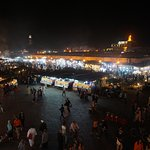 Marrakech Market - At Night