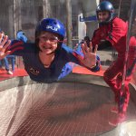 iFly experience at Universal City Walk, Hollywood
