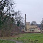 Potsdam, Neuer Garten, die Meierei am Jungfernsee