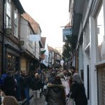 A busy day on the Shambles