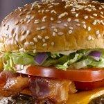 Home made burgers & fresh cut fries