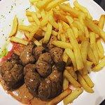 Rognons de veau à l ancienne !!! Un délice avec des frites maison