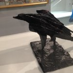 The Bird by Dame Elizabeth Frink at the Tate St Ives