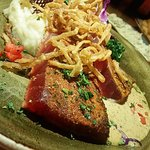 Ahi Steaks are seared to perfection and packed with flavor and kick!