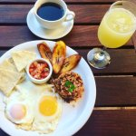 El Typico - Nicaraguan breakfast