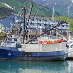 Seward Boat Harbor Foto