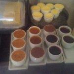 Fresh butter and organic jellies/jam
