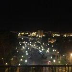 Hermosa vista de la noche en Jerez