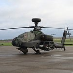 AH 64 Apache on the tarmac