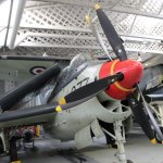 Fairey Gannet in the sea warfare shed