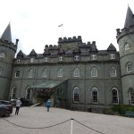 Inverary Castle - the interior is well worth a visit