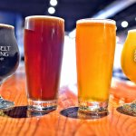 We provide a variety of craft beers from dark to light.
