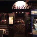 Entrance tof Basilic Restaurant