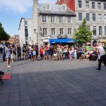 Magic Show in Square