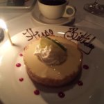 key lime tart--yummy!