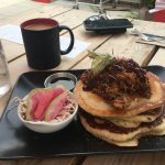 Pulled Pork Pancakes