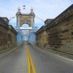 Roebling Suspension Bridge, 1866