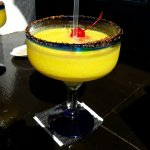 Coconut Lime and Mango Margaritas