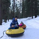 Snowtubing complimentary for our guests
