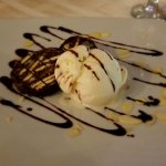 Chocolate Salami with Gelato