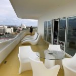 balcony of penthouse suite