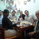 Junto a los expositores cubanos que participarán del I Congreso Internacional de Turismo en la U