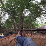 Such fun to just sit in the hammock and read... to the sound of nothing but a gently flowing riv