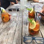 Great Pimms to start