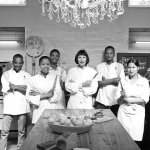 The African Relish kitchen team ready for action
