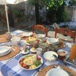 Great Breakfast....eggs, toasts, croissants,...