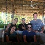 Bamboo bar in Sanur for drinks