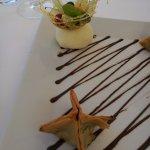 Postre - Restaurant GARBET (Colera-Girona)