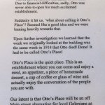 the story of Otto's Place