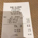 Pub Kleber Bar Brasserie Foto